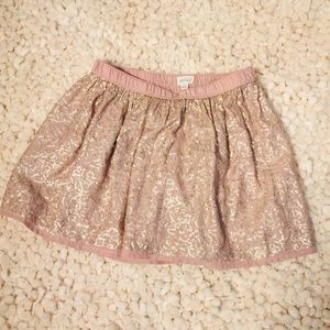Aerie Dusty Rose Shimmer Sequin Mini Skirt S/P EUC
